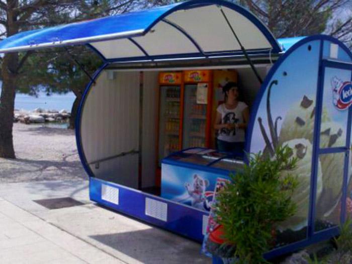 Ledo kiosci