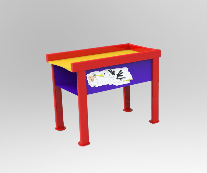 TYPE 8625 BABY CHANGING TABLE