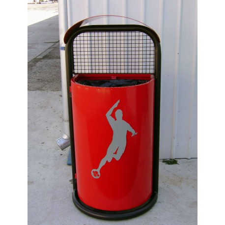 "TYPE 2600 TRASH CAN SELF STANDING SERIES ""SPORT"""