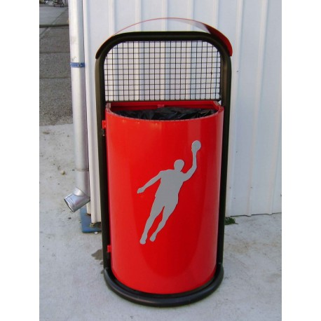 "TYPE 2601 TRASH CAN SELF STANDING SERIES ""SPORT"""
