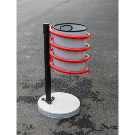 TYPE 2602 TRASH CAN SELF STANDING SPIRAL