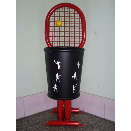 "TYPE 2611 TRASH CAN SELF STANDING SERIES ""SPORT"""