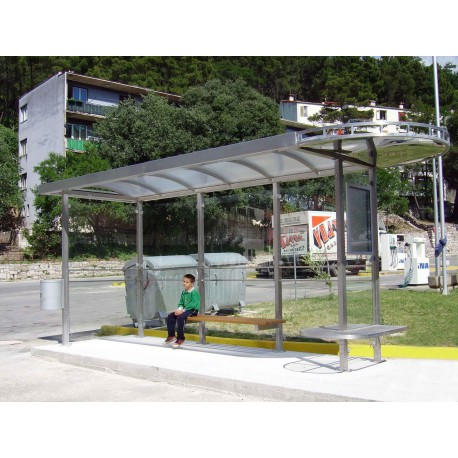 TYPE 1220 BUS STOP SHELTER