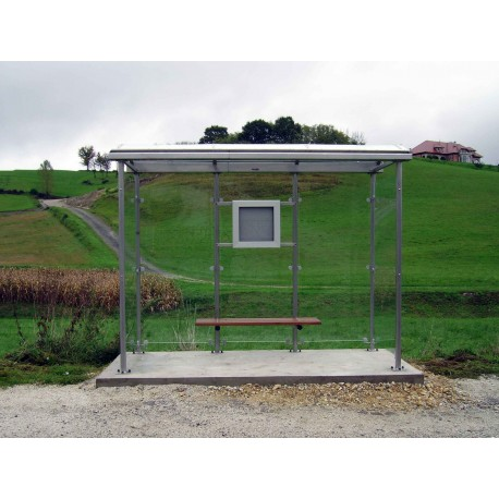 TYPE 1261 BUS STOP SHELTER