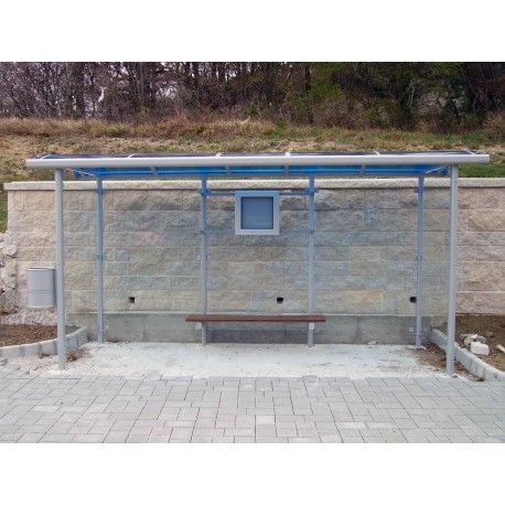 TYPE 1310 BUS STOP SHELTER