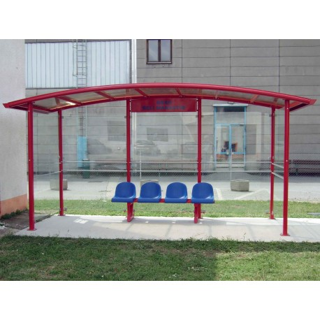 TYPE 1330 BUS STOP SHELTER