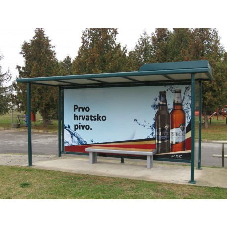 TYPE 1455 BUS STOP SHELTER