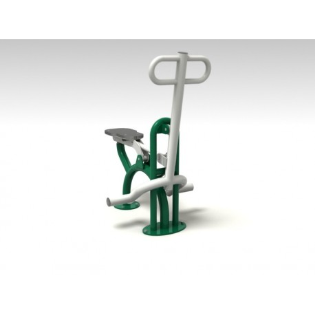 TYPE 9167 MOVABLE SEAT – RIDER – outdoor fitness apparatus