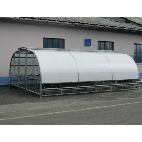 TYPE 1600 SHELTER FOR BICYCLES DOUBLE