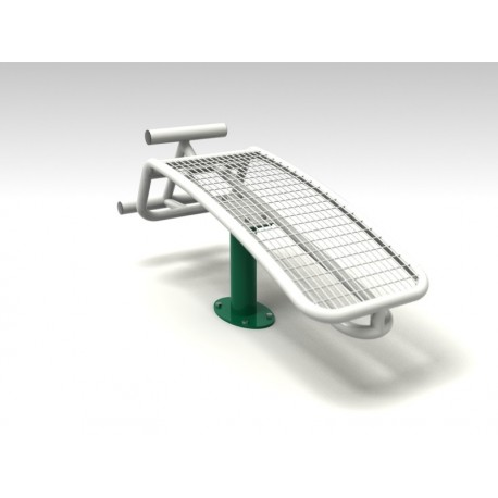 TYPE 9168 INCLINED BENCH – outdoor fitness apparatus