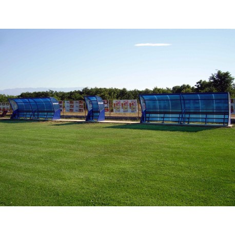 TYPE 1900 SHELTER FOR SUBSTITUTE PLAYERS