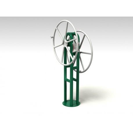 TYPE 9181 BIG WHEEL – outdoor fitness apparatus