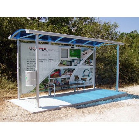 TYPE 1315 BUS STOP SHELTER