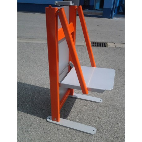 TYPE 3262 TOGGLE ADVERTISING CHAIR ALUMINIUM