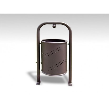 "TYPE 2001 TRASH CAN 35L ""VALPOVO"" WITH BALL"