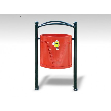 TYPE 2002 TRASH CAN ELLIPSE 35L