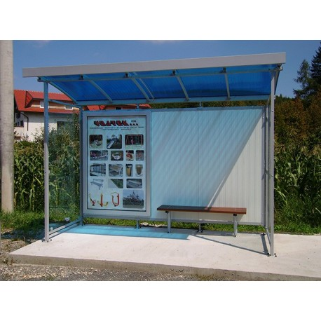 TYPE 1150 BUS STOP SHELTER