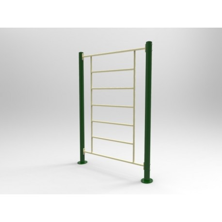 TYPE 9320 VERTICAL LADDER – outdoor fitness apparatus