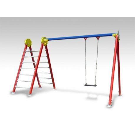 TYPE 8130 SWING WITH CLIMBING LADDERS