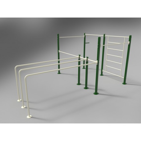 TYPE 9370 STREET WORKOUT CAGE