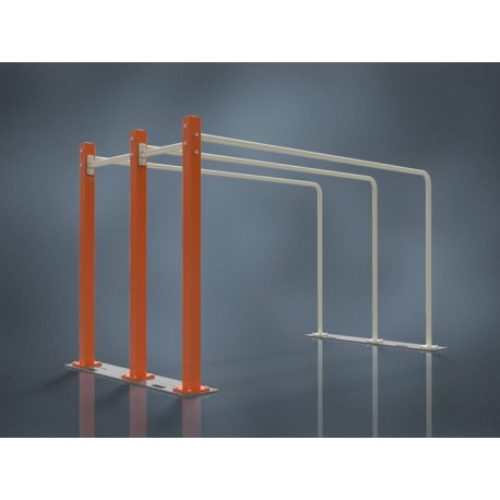 TYP 9501 – MOBILE INDOOR STREET WORKOUT PARALLEL BARS