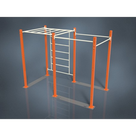 TYPE 9504 – MOBILE INDOOR STREET WORKOUT CAGE