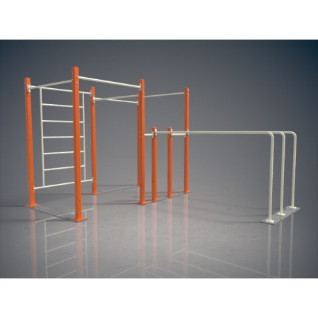 TYPE 9505 – MOBILE INDOOR STREET WORKOUT CAGE
