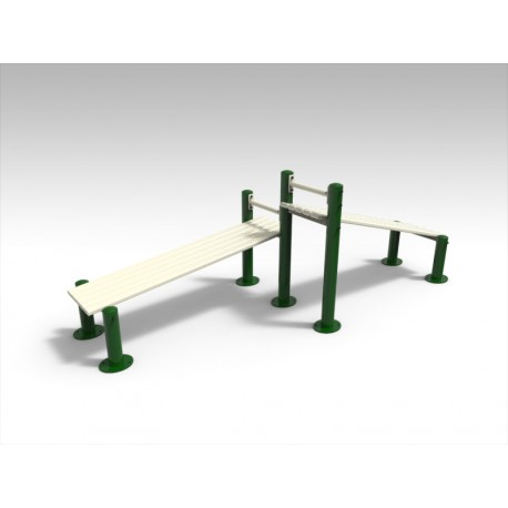 TYPE 9304 COMBINED INCLINED BENCH