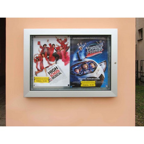 TYPE 5130 ADVERTISING BOARD ALIMINIUM – SAFETY GLASS