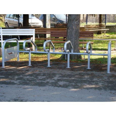 TYPE 4016 BICYCLE STAND WITH ADVERTISING PANEL