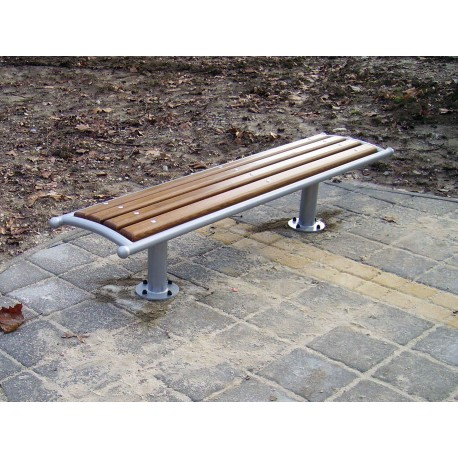 """TYPE 3012 BENCH STEEL – WOOD  WITHOUT BACKREST SERIES """"DADA"""""""