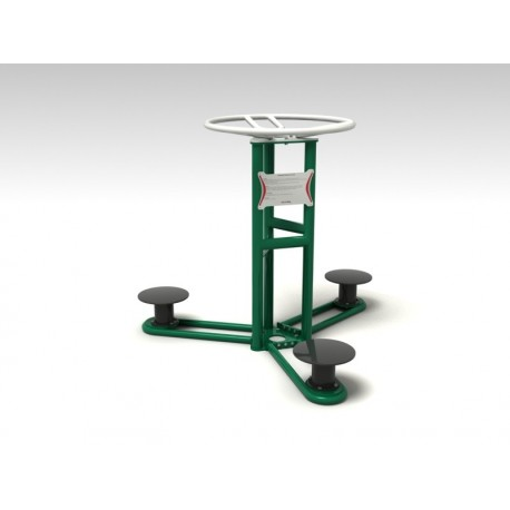 TYPE 9130 ROTARY STAND – outdoor fitness apparatus