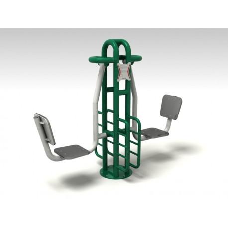 TYPE 9140 LEG PRESS – outdoor fitness apparatus
