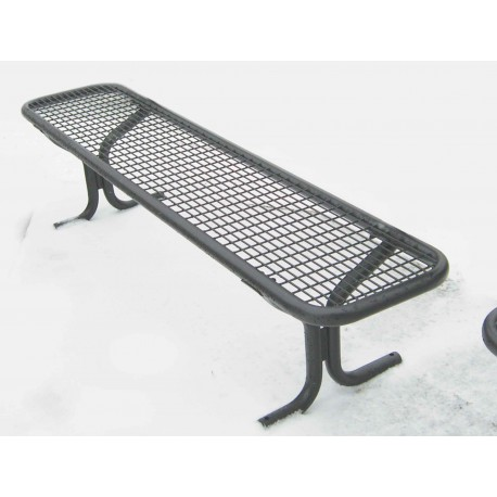 "TYPE 3204 BENCH STEEL WITHOUT BACKREST SERIES ""ROMANS"""