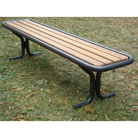 """TYPE 3205 BENCH STEEL – WOOD WITHOUT BACKREST SERIES """"ROMANS"""""""