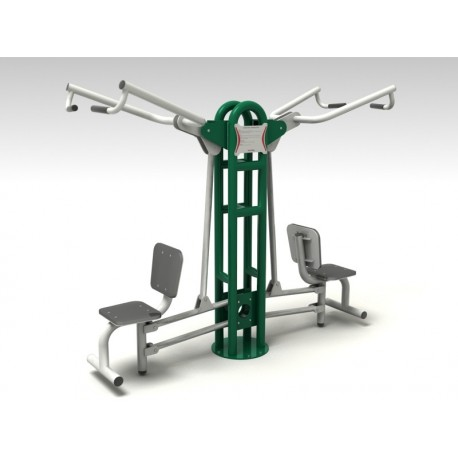 TYPE 9150 LEVER CHAIR – PULLING – outdoor fitness apparatus