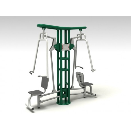 TYPE 9151 LEVER CHAIR – PUSHING – outdoor fitness apparatus