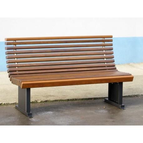 TIP 3709 KLUPA ČELIK – NEHRĐAJUĆI ČELIK – ALUMINIJ – DRVO