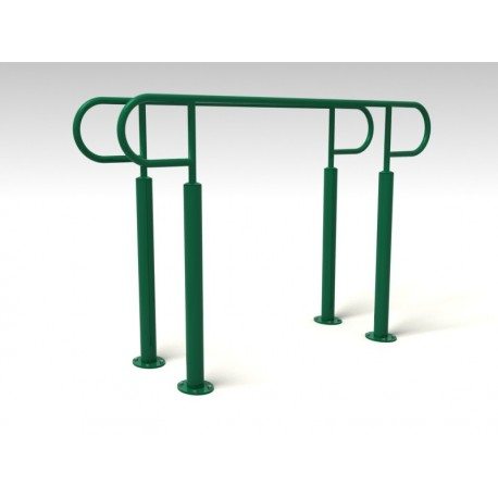 TYPE 9155 PARALLEL BARS – outdoor fitness apparatus